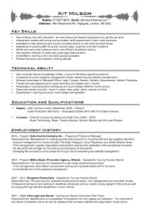 Kit Milsom CV